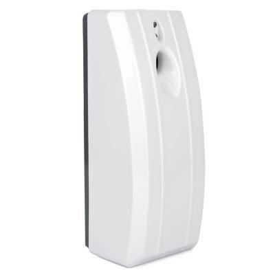 Stripy Automatic Air freshener dispenser, ABS Plastic White