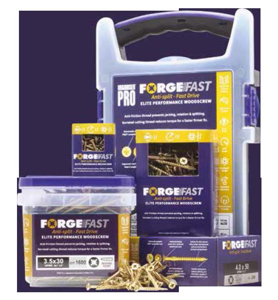 forgefast elite performance woodscrews