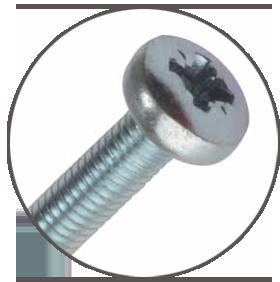 pan head screw type