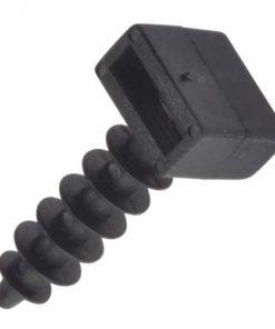 Cable Tie Plug - Black - Bag