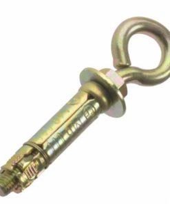 Masonry Anchor - Eye Bolt - Zinc Yellow Passivated - Bag
