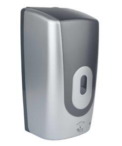 Automatic 1Ltr Foam Soap Dispenser, ABS Plastic Silver/Graphite