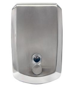 1.2Ltr Bulk Fill Liquid Soap Dispenser, Stainless Steel Brushed/Chrome