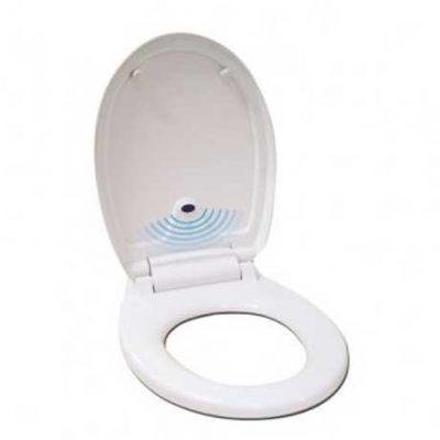 automatic toilet seat