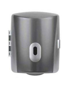 Centre Feed Hand Dispenser, ABS Plastic Silver graphite