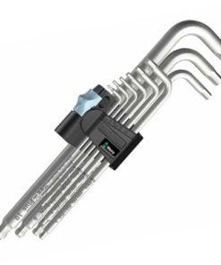 Wera 3950 PKL/9 L-Key Set - Stainless