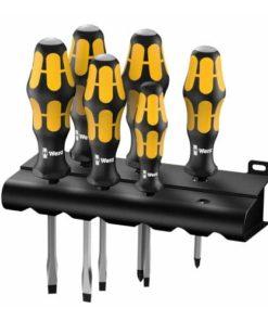 Wera 932/918/6 Kraftform Plus Screwdriver Set - Series 900 - PZ/SL