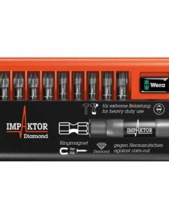 Wera Bit-Check 10 Impaktor 3 DC - PZ/TX